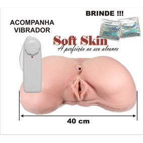 Bundão Em Cyber Skin Com Vibrador - Buceta - Frete Grátis Br