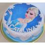 Torta Cumpleaños Infantiles Decorada Casera Frozen Cupcakes
