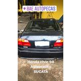 Sucata Honda Civic 98 Automatico Somente Venda De Peças