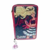 Cartuchera Barbie 2 Pisos Niñas Original