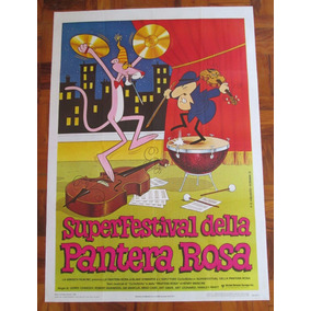 Pantera Cor De Rosa Superfestival Manifesto 2f Cartaz