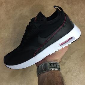 super popular f2e01 ac14e Tenis Zapatillas Nike Air Max Thea Negra Mujer Envio Gratis