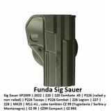 Funda Pistola Holster Verde Sig Sauer 2022 226 Mk25 220 Cz99