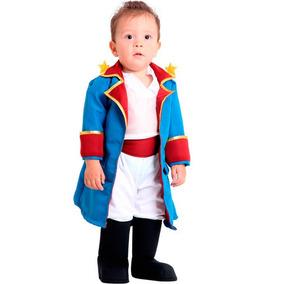 Fantasia Pequeno Principe Luxo Bebe Original 1 A 2 Anos
