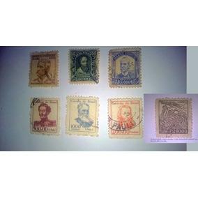 Selos Postais Note Almirante Mauriti Em 20 000 $reis +1dife