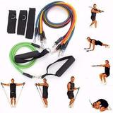 Pack 5 Ligas Banda Elastica Ejercicios Pilates Y Resistencia