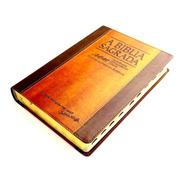 Bíblia Trinitariana Almeida Fiel Acf Rcm Luxo Choco + Índice