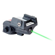 Mira Laser Compacta Verde Para Pistola Trilho Picantinny