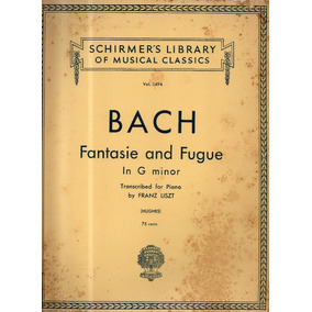Bach Fantasie And Fugue In G Minor Partitura