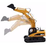 Excavadora Hidráulica Huina A Control Remoto Escala 1:12