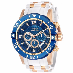 Relógio Invicta Pro Diver - 23709 Dourado Branco Masculino