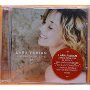 Lara Fabian A Wonderful Life - Cd Lacrado Promo