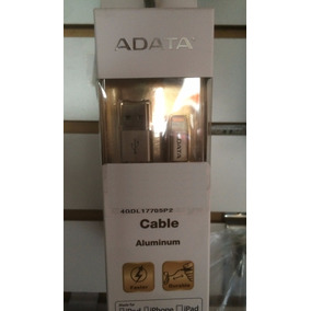 Adata Cable Iphone 5 Lightning Dorado/titanio Original