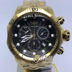 457abf7fd66 Relógio Invicta Specialty 1016 Cronografo Banhado Ouro - Relógios De ...