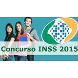 Analista Do Seguro Social Concurso Inss 2015 - Completo