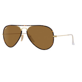 gafas ray ban aviator 3025 café degrade unisex