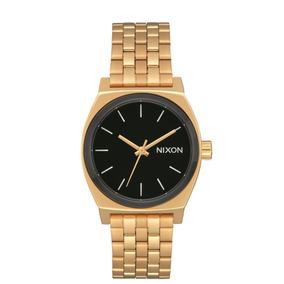 Reloj Medium Time Teller Dorado/negro/blanco Nixon