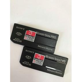 Cartão De Memoria Sony Memory Stick 512mb Original Japan