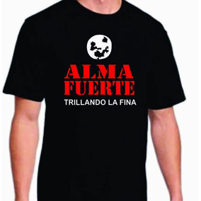 Remera Almafuerte Calidad Premium