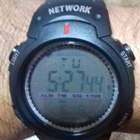 Network Relogio Digital Prova Dágua Total