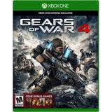 Gears Of War 4 Fisico Xbox One Nuevo Sellado