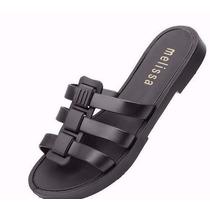 Kit 12 Sandalia Chinelo Melissa Flox Slide Feminina Atacado