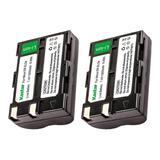 2 Baterias Kastar En-el3e Nikon D700 D300 D90 D80