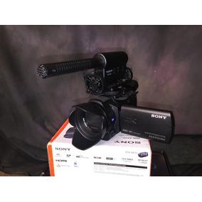 Videocámara Profesional Sony 4k Micrófono Externo