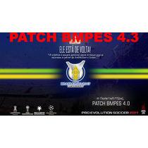 Patch Bmpes 4.0 Pes 2017 Brasil + Mundo Pc + Atualização 4.3