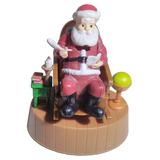 Boneco Cadeira Do Papai Noel Brinquedo Que Mexe C/ Luz Solar