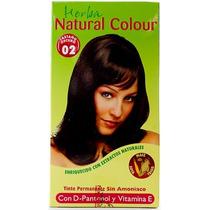 Tinte Castaño Obscuro 150 Ml Natural Colour Sin Amoniaco