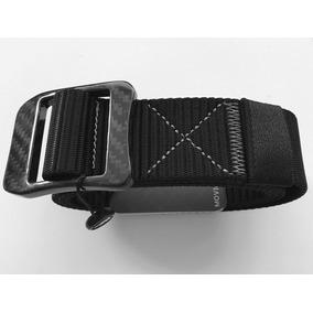 Cinturon Nylon Grado Militar Con Hebilla De Fibra De Carbono