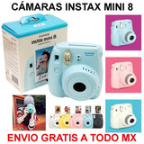 Fujifilm Instax Mini 8 Camara Instantanea Con Papel Incluido