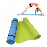 Colchoneta Yoga Pilates Mat 6mm Manta Enrollable 1,70 X 0.60