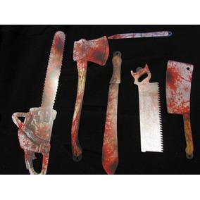 Halloween Decoracion Cuchillos Carton Sangre