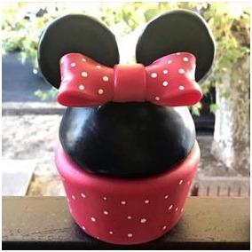 Centro De Mesa- Adorno De Torta Minnie Mickey Porcelana Fria