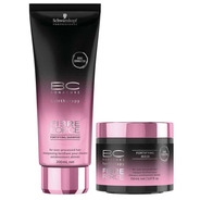 Kit Schwarzkopf Bc Fibre Force Shampoo 200ml + Máscara 150ml