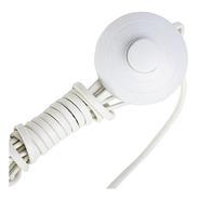 Lucchi - Cabo P/ Abajur C/ Interruptor Piso Branco 3mts