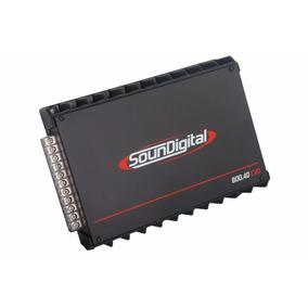Módulo Amplificador Digital Soundigital Sd800.4d 800w 2 Ohms