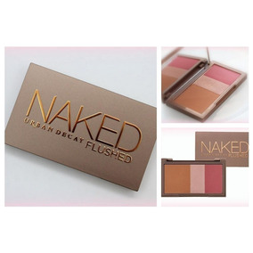 Paleta De Blush Naked Flushed Urban Decay + Brinde
