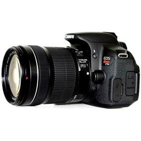 Camera Canon Rebel T5i Lente 18-55mm +32gb+ Bolsa+ Minitripé