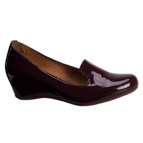 Zapato Confort Shosh 165840 Vino Pcf 1-18.