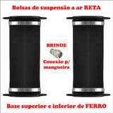 Par De Bolsa De Ar Reta 12mm - Fiesta Novo 2009