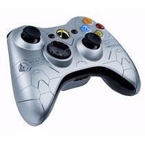 Controle Xbox 360 Halo Edition Microsoft Ed Especial Orig.