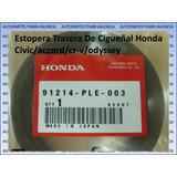 Estopera Trasera De Cigueñal Honda Civic/accord/cr-v/odyssey
