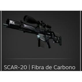 Skin Cs Go -scar-20 | Fibra De Carbono |