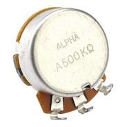 Potenciômetro Alpha A500k Ou B500k - Guitarra Baixo Violão
