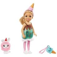 Barbie Club Chelsea Festa Fantasia Sorvete Mattel Ms