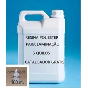 Resina Poliéster Para Laminação De Fibra De Vidro 5 Quilos