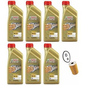 Kit Troca Óleo E Filtro Amarok Castrol Edge 5w30 Vw 50700